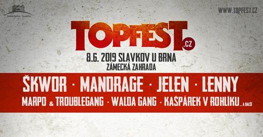 TOPFEST.CZ 2019 – So 8.6.