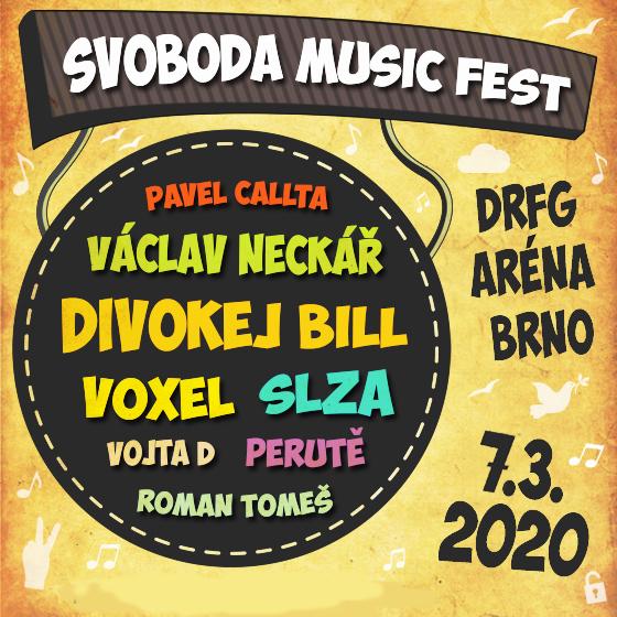 SVOBODA MUSIC FEST – So 7.3.
